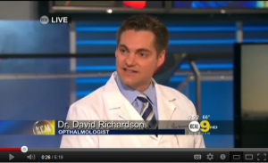 A Treatment For Glaucoma- KCAL9 with Dr. David Richardson - YouTube