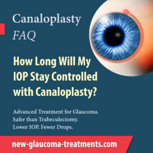 How Long Will My IOP Stay Controlled with Canaloplasty