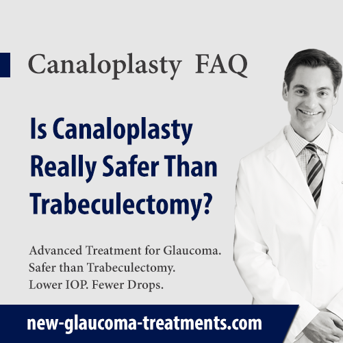 Is Canaloplasty Really Safer Than Trabeculectomy?