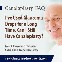 I Have Used Glaucoma Drops for a Long Time, Will That Affect the Success of Canaloplasty?