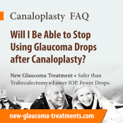 Will I Be Able To Stop Using Glaucoma Drops After Canaloplasty?