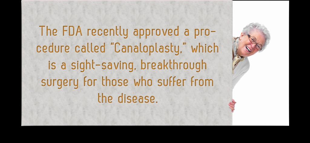 Canaloplasty