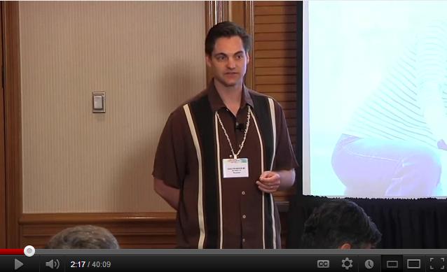 Ophthalmologist in California, Dr. David Richardson At Hawaiian Eye 2012