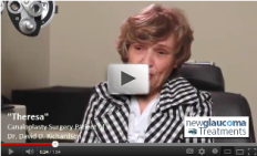 Canaloplasty Surgery Testimonial From a Patient of Dr. David Richardson - Theresa Dubois - YouTube