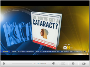 """Dr. David Richardson Discusses New Book, """"So You've Got A Cataract"""" 