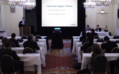 ASCRS 2012: David Richardson | Canaloplasty Patient Outcomes at 250 Days Post-Op