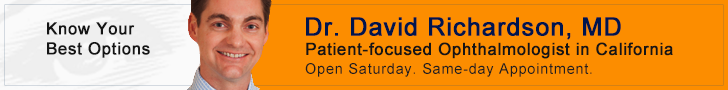 Dr. David Richardson | New Glaucoma Treatments