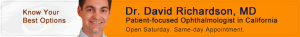 Best Glaucoma Surgeon California Dr David Richardson