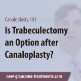 Trabeculectomy Glaucoma Surgery After Canaloplasty