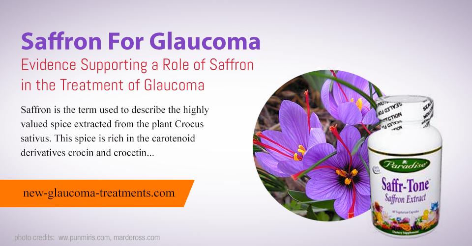 Saffron For Glaucoma