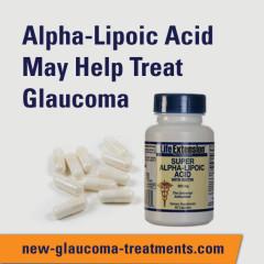 Alpha-Lipoic Acid May Help Treat Glaucoma