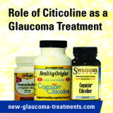 Role of Citicoline as a Glaucoma Treatment