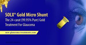 SOLX® Gold Micro Shunt