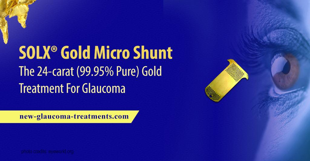 SOLX® Gold Micro Shunt – The 24-carat
