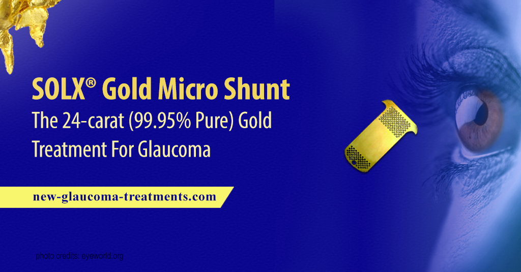 SOLX® Gold Micro Shunt – The 24-carat