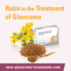 Rutin May Have a Role in the Treatment of Glaucoma