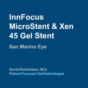 InnFocus MicroStent & Xen 45 Gel Stent