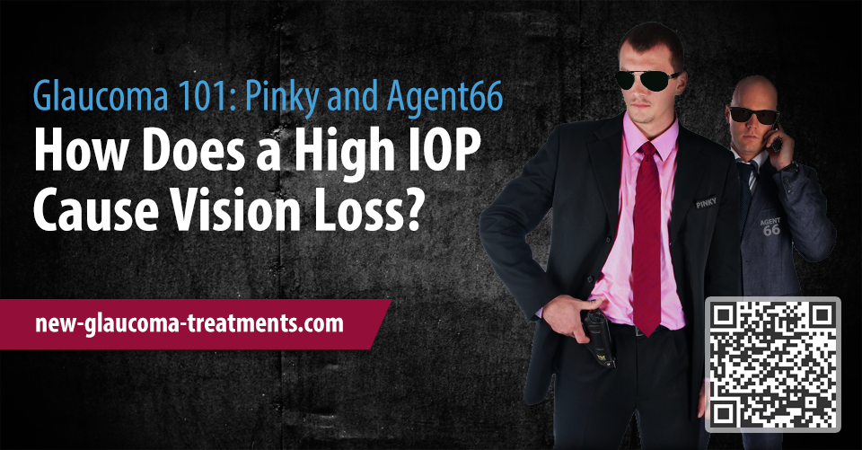 How Does a High IOP Cause Vision Loss