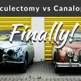 Trabeculectomy versus Canaloplasty (TVC study)