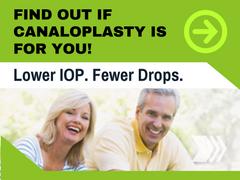 Canaloplasty Lower IOP. Fewer Drops.