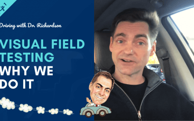 Visual Field Testing – Why We Do It | Driving with Dr. David Richardson  – Series 2 Ep 01