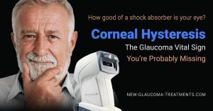 Corneal Hysteresis Glaucoma Vital Sign